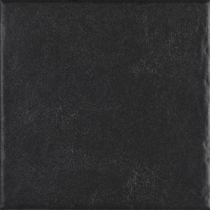 Płytka ścienno-podłogowa 19,8x19,8 cm Paradyż Modern Nero Gres Szklany Struktura