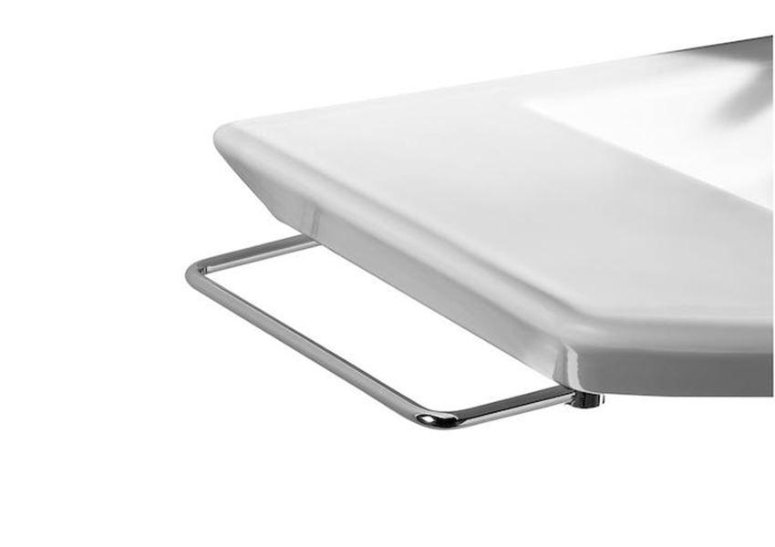 Wieszak do umywalki 22x1,5x11,5 cm Roca Hall