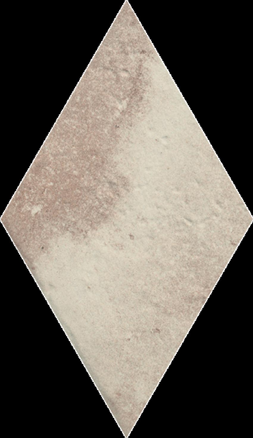 Dekoracja podłogowa 14,6x25,2 cm Paradyż Scandiano Ochra Romb