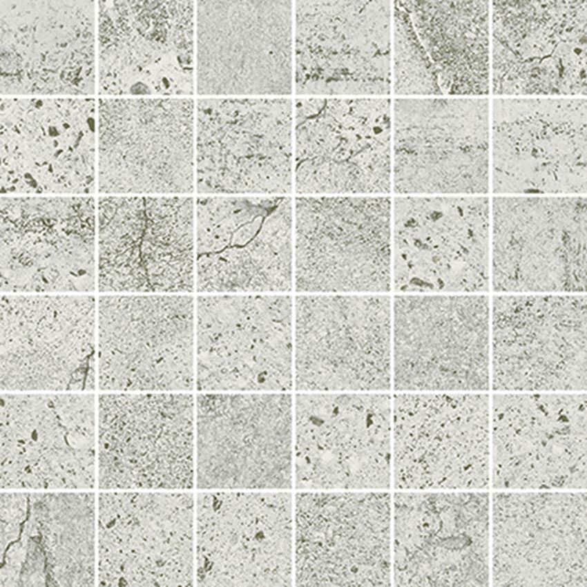 Mozaika 29,8x29,8 cm Opoczno Newstone Light Grey Mosaic Matt