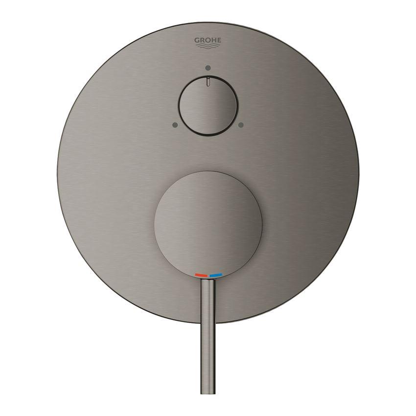 Jednouchwytowa bateria do obsługi trzech wyjść wody brushed hard graphite Grohe Atrio