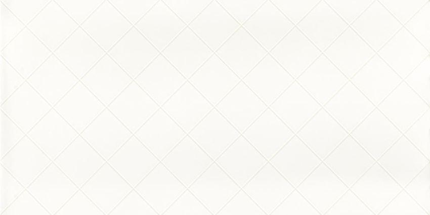 Płytka ścienna 30x60 cm Paradyż Tonnes Bianco Kratka