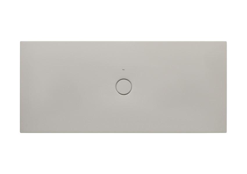 Brodzik ceramiczny SENCERAMIC® beż 180x80 cm Roca Cratos
