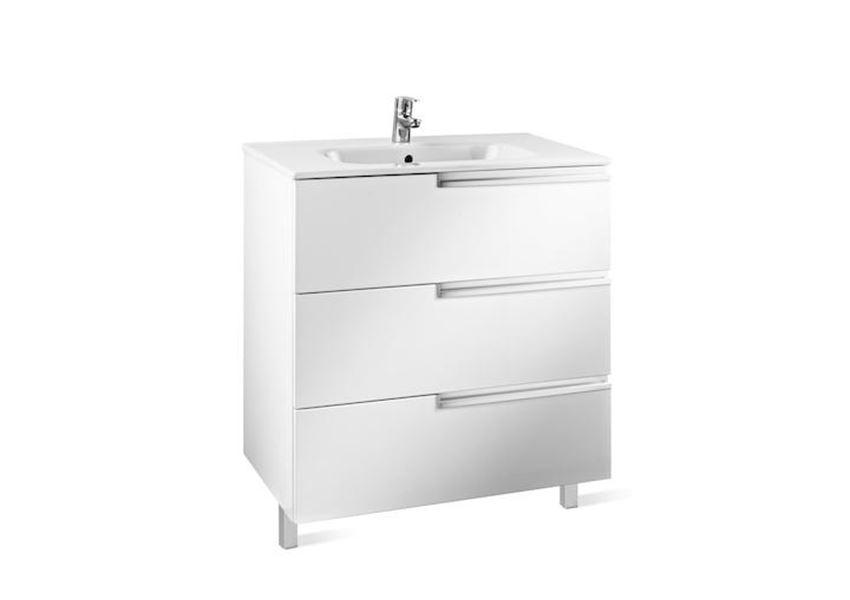 Zestaw łazienkowy Unik z 3 szufladami Roca Victoria-N