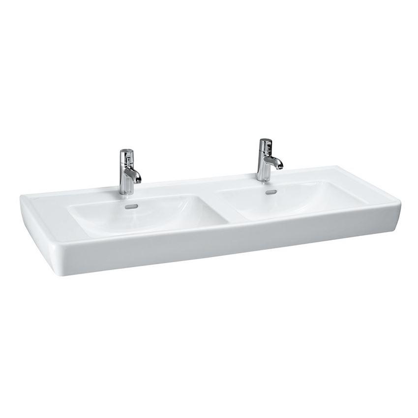 Umywalka podwójna 130 cm Laufen Pro
