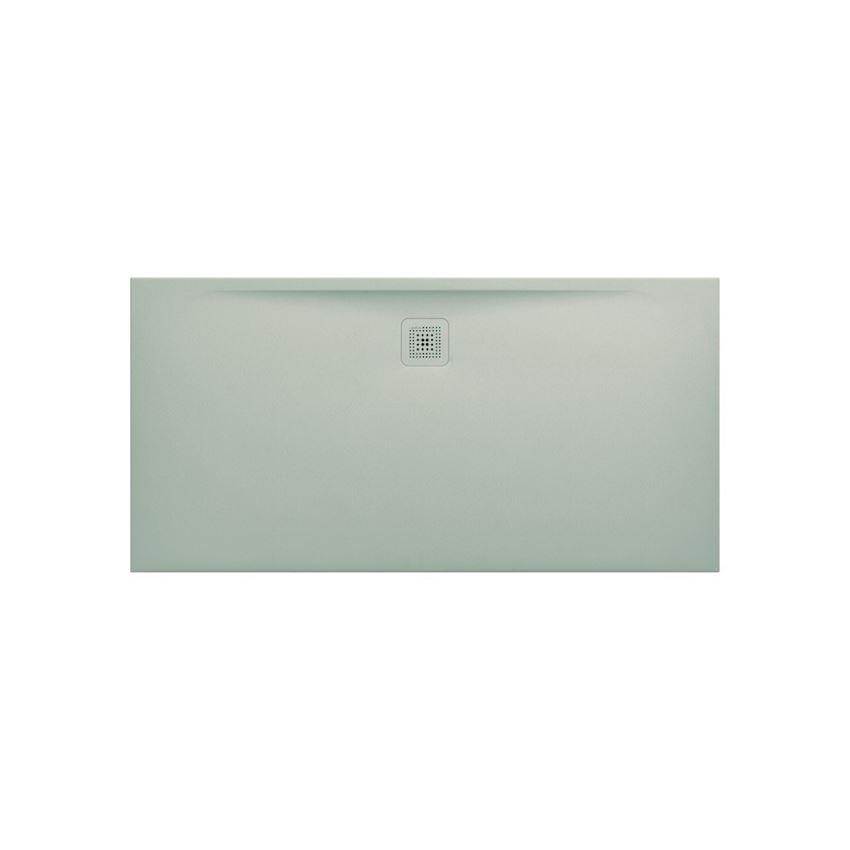 Ultrapłaski brodzik prostokątny 160x80x3,2 cm szary Laufen Pro