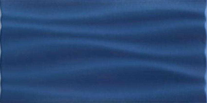 Płytka ścienna Domino Joy Wave Niebieska STR