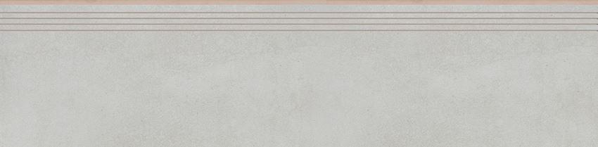 Płytka stopnicowa 29,7x119,7 cm Cerrad Tassero bianco