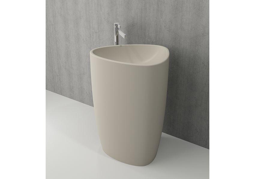 Umywalka wolnostojąca monoblok Matt Jasmine Bocchi Etna