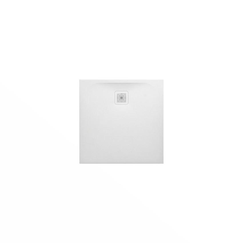 Ultrapłaski brodzik kwadratowy 80x80x2,8 cm biały Laufen Pro