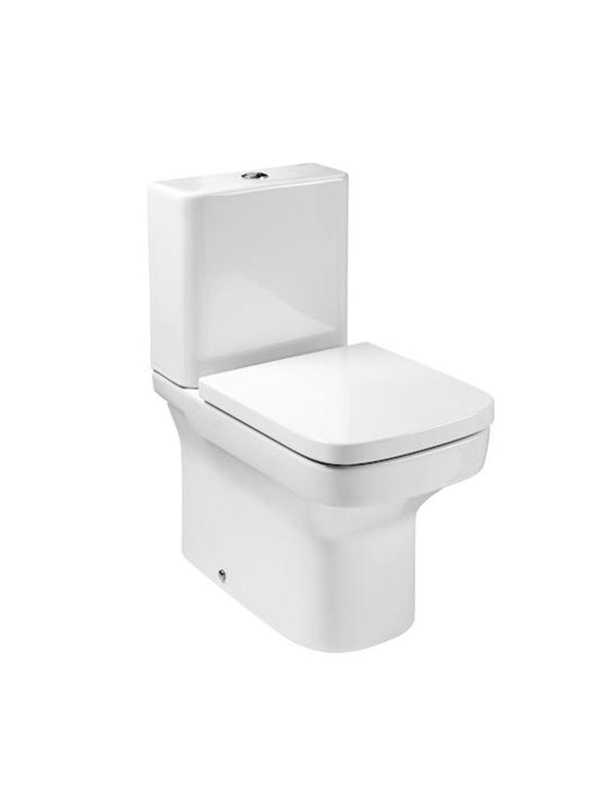 Miska do kompaktu WC Compacto, 36,5x60x76 cm Roca Dama-N