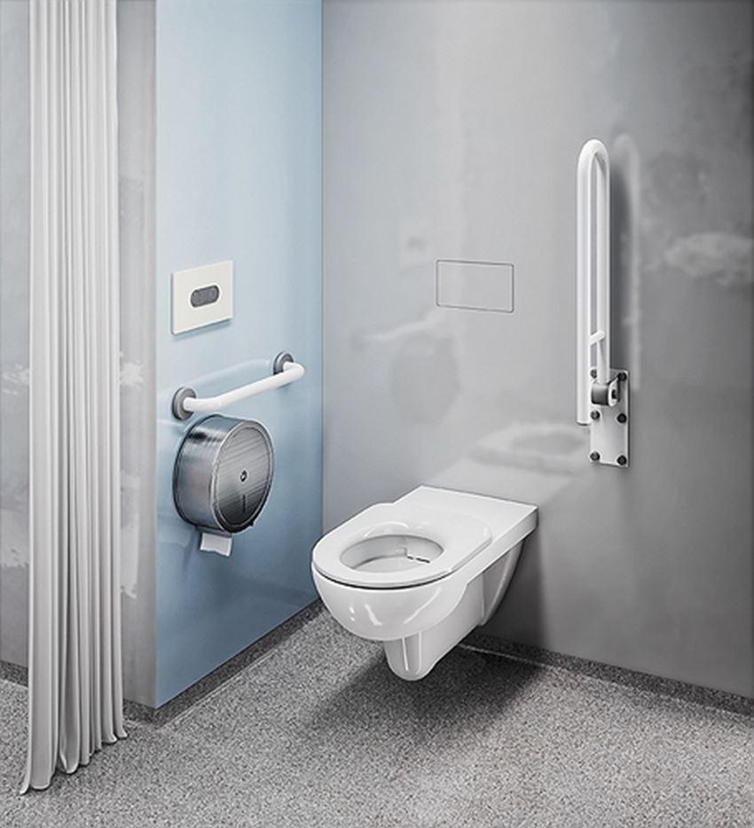 Siedzisko/deska sedesowa dla osób niepełnosprawnych i starszych Koło Nova Pro Bez Barier