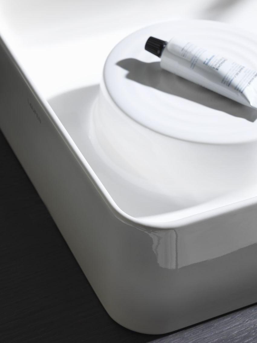 Umywalka nablatowa 55x36x12,5 cm Laufen Val