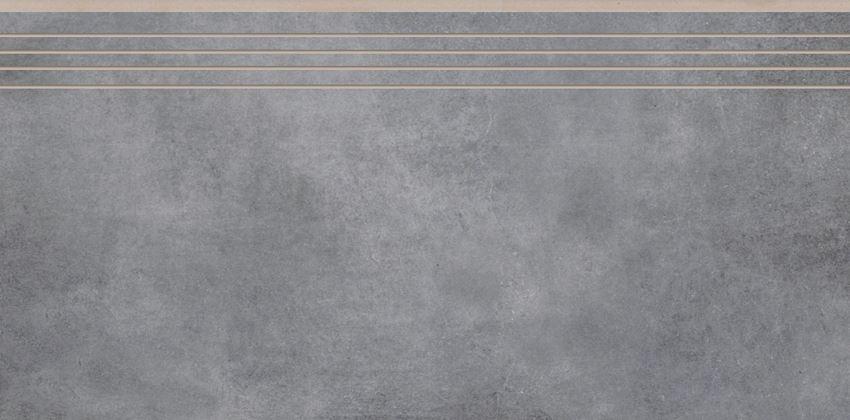 Płytka stopnicowa 29,7x59,7 cm Cerrad Batista steel