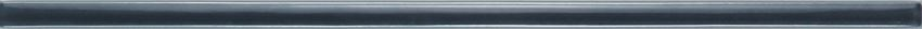 Listwa ścienna 36x1 cm Domino Cado grafit