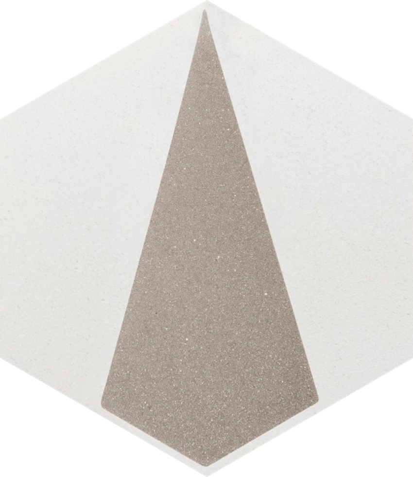 Dekor ścienny Paradyż Esagon Concrete Silver Inserto A