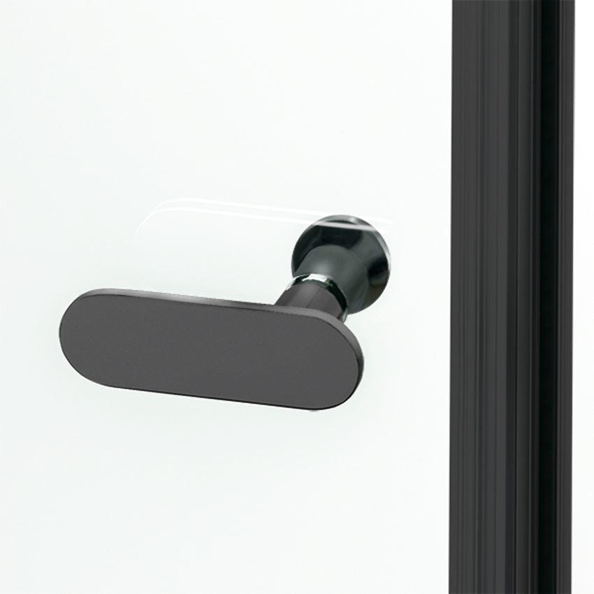 Uchwyt do drzwi kabiny prysznicowej New Soleo Black