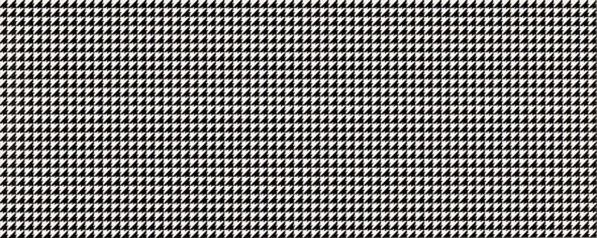 Płytka dekoracyjna 20x50 cm Opoczno Black&White Pattern F