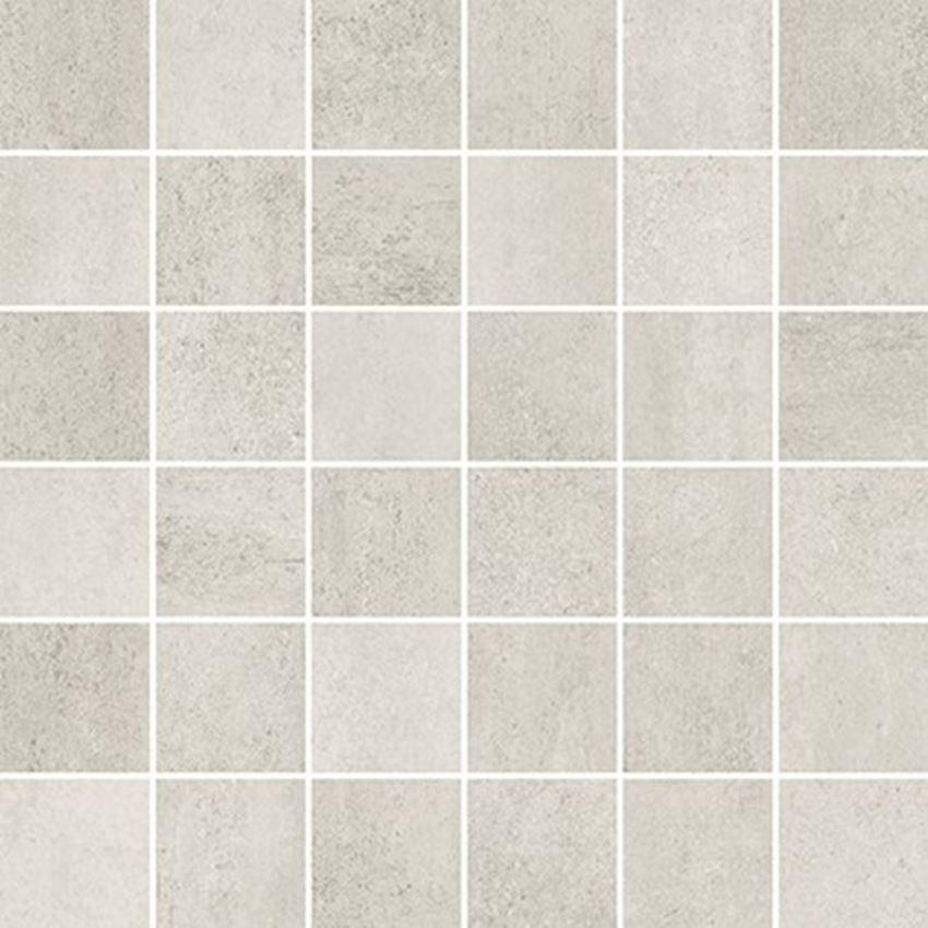 Mozaika 29,8x29,8 cm Opoczno Grava White Mosaic Matt