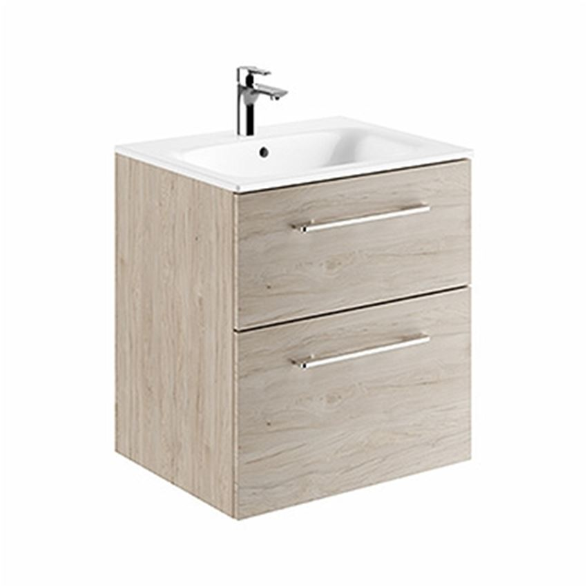 Zestaw meblowy: umywalka 60 cm + szafka Koło Nova Pro Premium