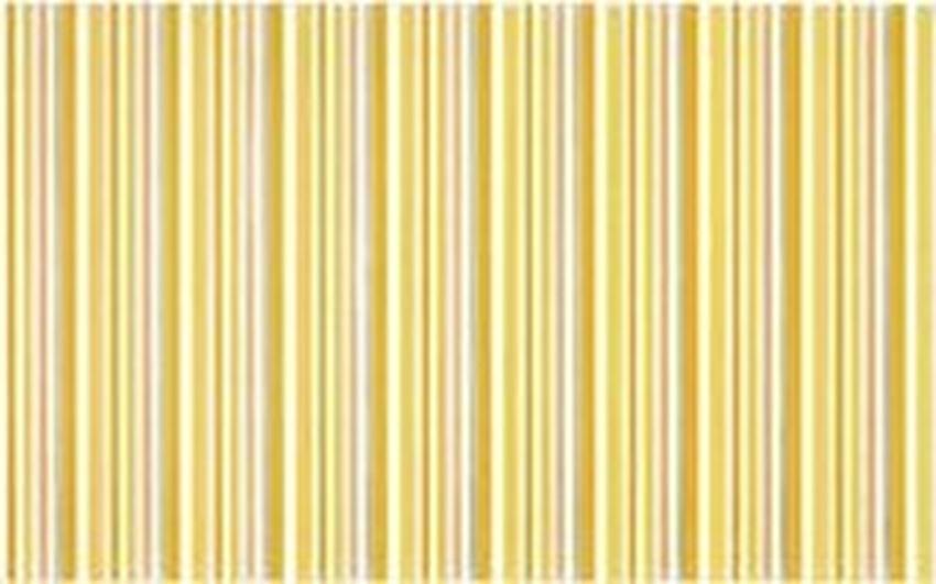 Płytka dekoracyjna 25x40 cm Cersanit Diantus yellow inserto stripe
