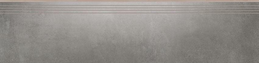 Płytka stopnicowa 29,7x119,7 cm Cerrad Tassero grafit lappato