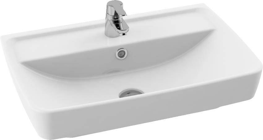 Umywalka meblowa/wisząca 40x60 cm CeraStyle Duru