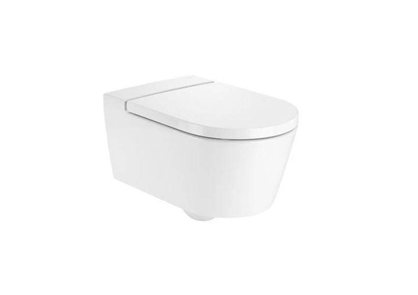 Miska WC podwieszana Rimless Round Roca Inspira A346527000