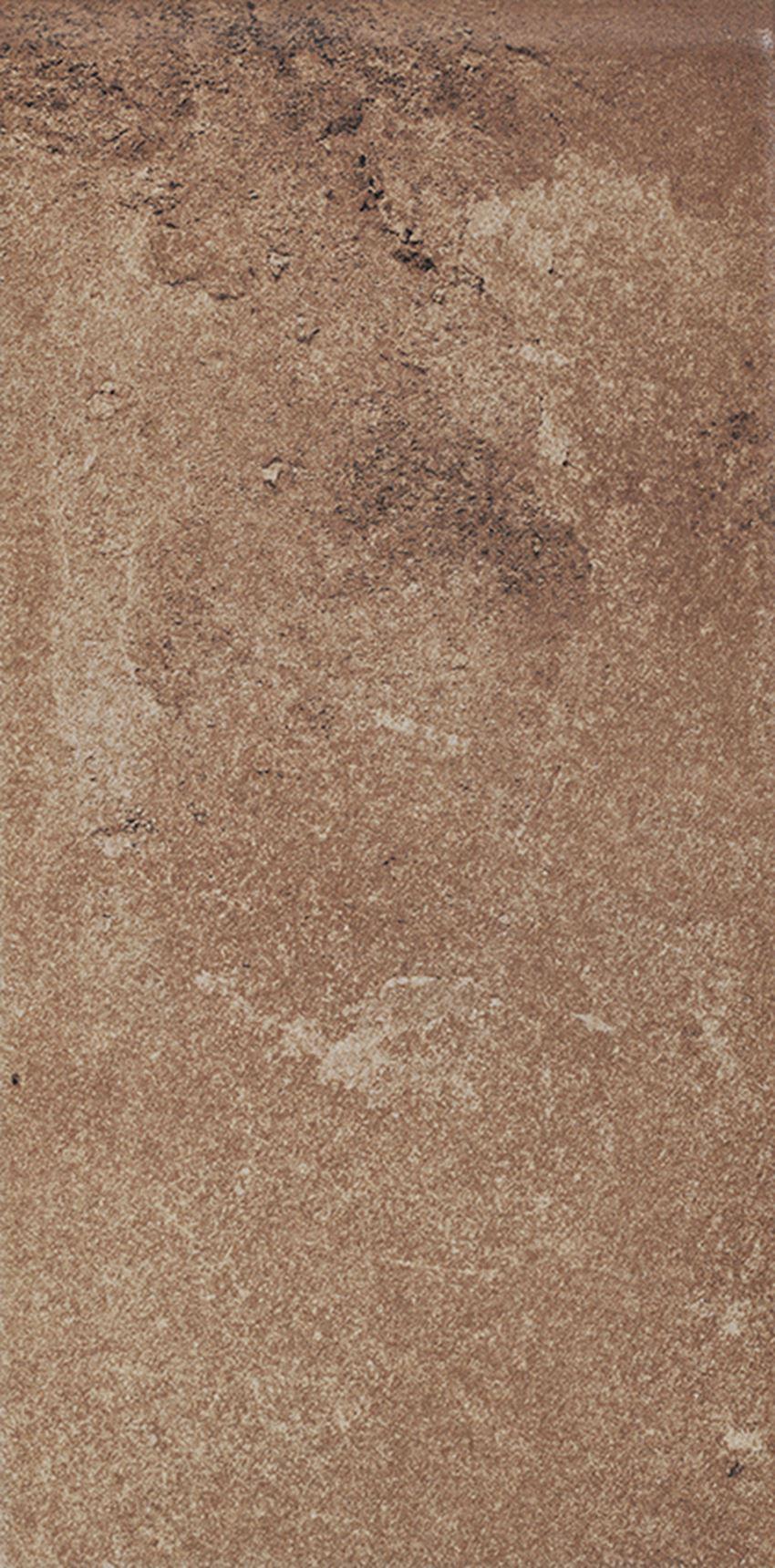 Płytka elewacyjna 14,8x30 cm Paradyż Scandiano Rosso Parapet