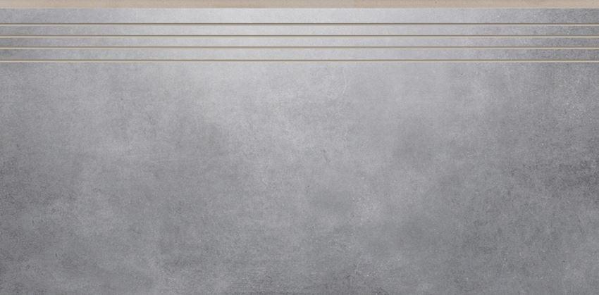 Płytka stopnicowa 29,7x59,7 cm Cerrad Batista steel lappato