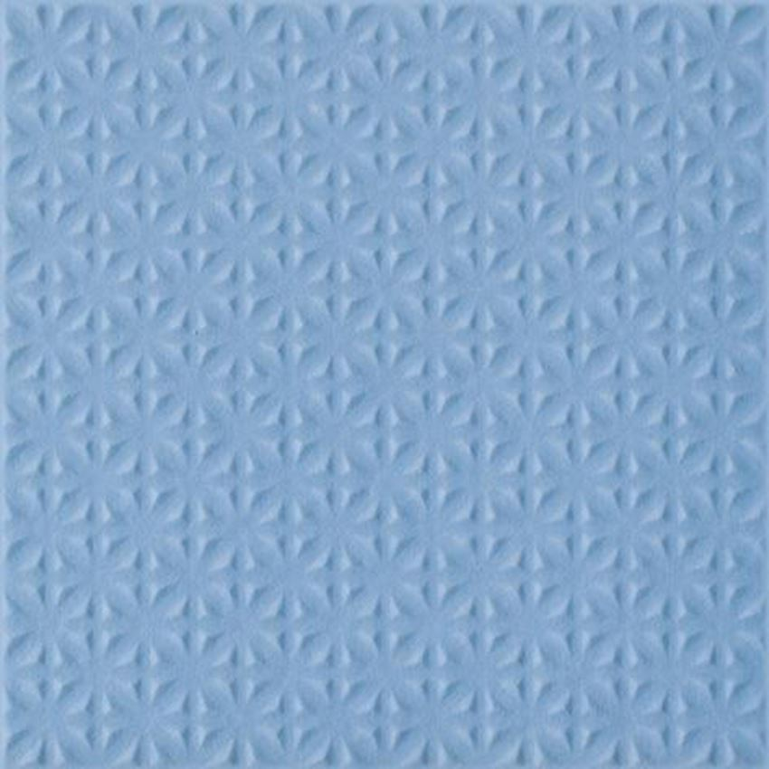Płytka uniwersalna 19,8x19,8 cm  Paradyż Gammo Niebieski Gres Szkl. Struktura