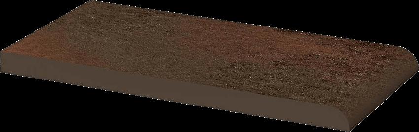 Płytka elewacyjna 10x20 cm Paradyż Semir Brown Parapet