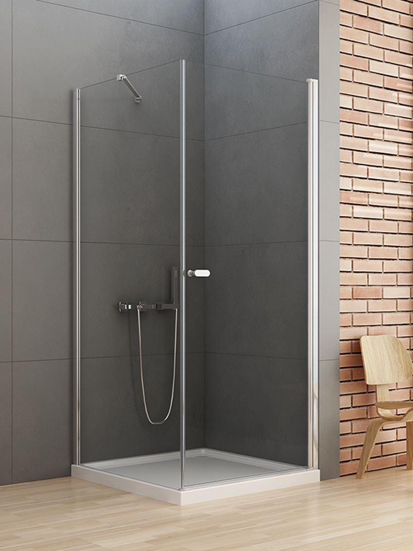 Kabina prysznicowa z drzwiami uchylnymi New Soleo