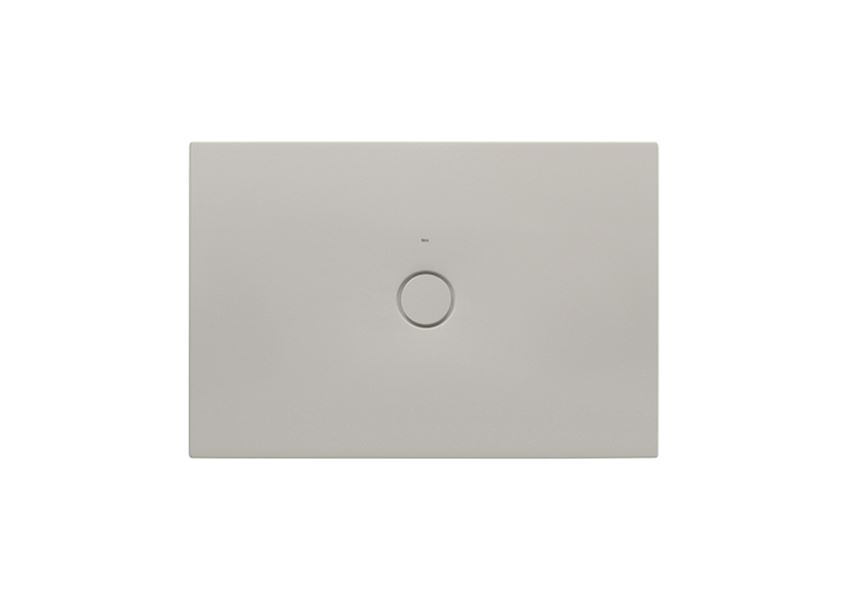 Brodzik ceramiczny SENCERAMIC® Beż 120x80 cm Roca Cratos