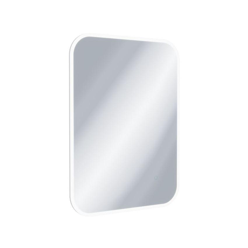 Lustro łazienkowe LED w ramie akrylowej 80x60 cm Excellent Lumiro