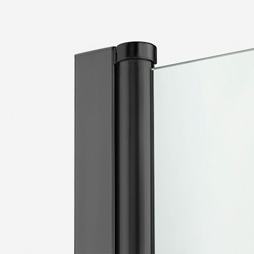 Zawias kolumnowy do kabiny prysznicowej New Soleo Black