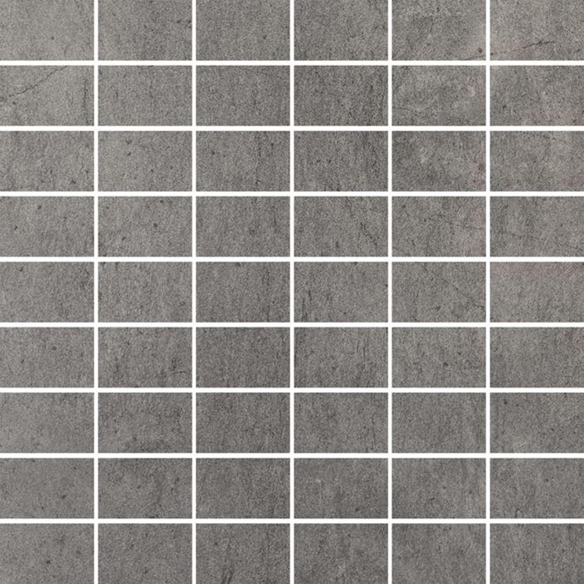 Mozaika 29,8x29,8 cm Paradyż Grys Mozaika Cięta Półpoler