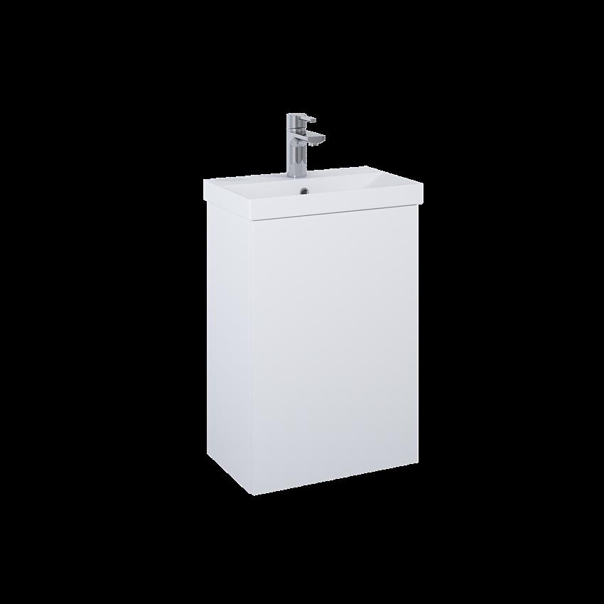 Szafka z umywalką 46x30,5x68,5 cm Elita Kido 45 1D White Matt