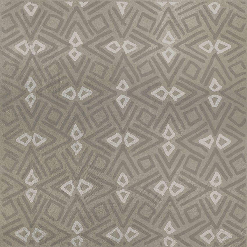 Płytka dekoracyjna 29,8x29,8 cm Paradyż Tigua Grys Inserto B Mat
