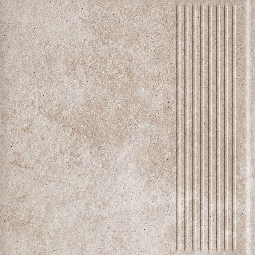 Płytka stopnicowa 30x30 cm Paradyż Viano Beige Stopnica Prosta