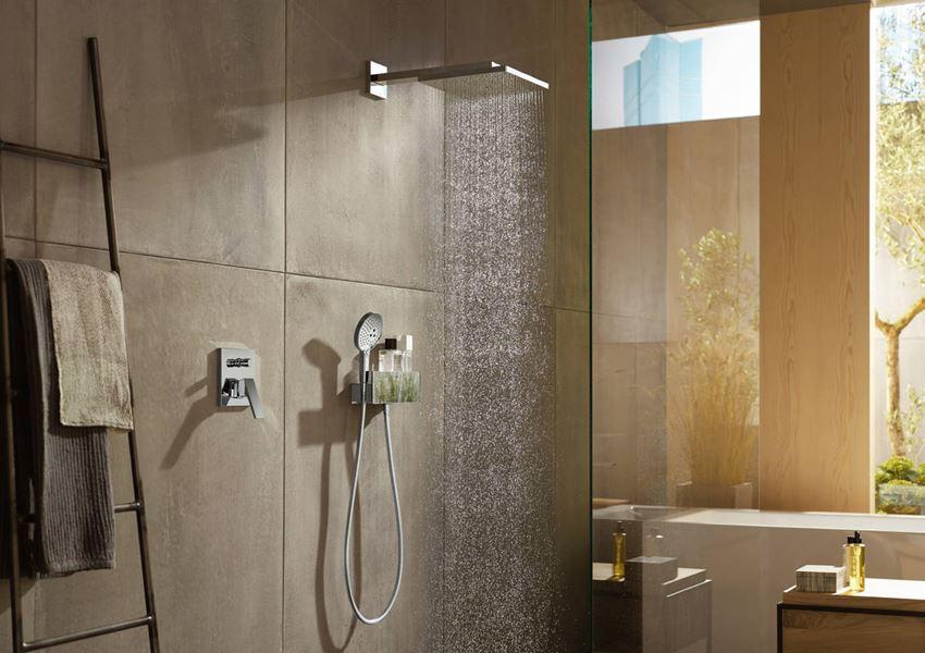 Głowica prysznicowa z ramieniem prysznicowym Hansgrohe Raindance E