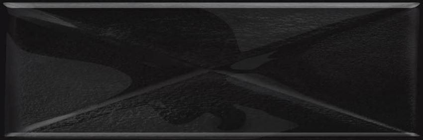 Dekoracja uniwersalna Opoczno glass black inserto new OD660-100