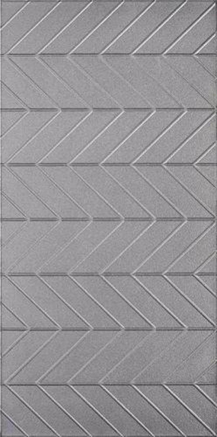 Dekor ścienny 29,5x59,5 cm Paradyż Motivo Silver Inserto Szklane