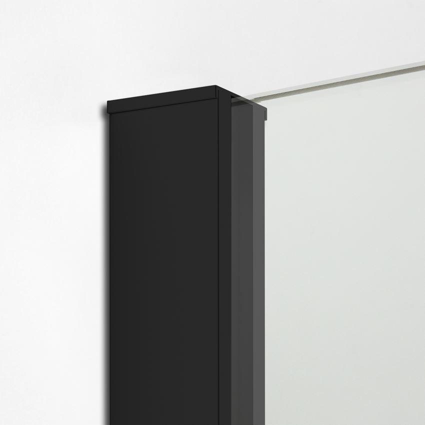 Profil czarny slim ścianki prysznicowej New Modus Black