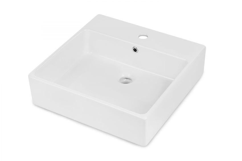 Umywalka stawiana na blacie 50x50 cm Deante Temisto