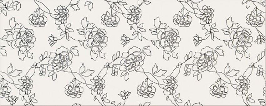 Płytka dekoracyjna 20x50 cm Opoczno Black&White Pattern C