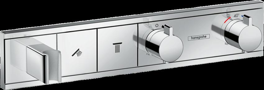 Bateria termostatyczna do 2 odbiorników Hansgrohe RainSelect