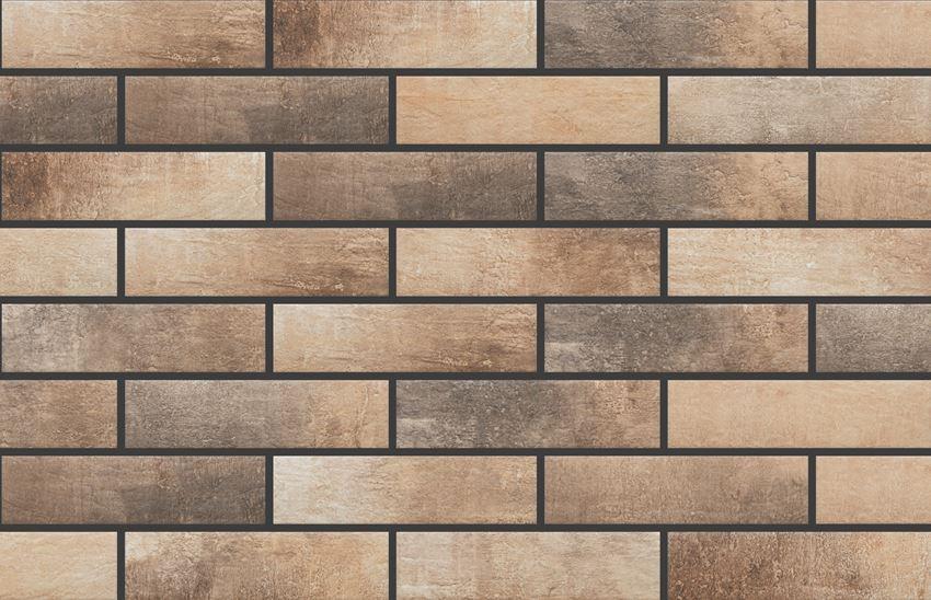 Płytka elewacyjna 6,5x24,5 cm Cerrad Loft Brick Masala