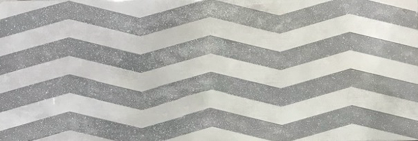płytka dekoracyjna Azario Sigma Decor Zig-Zag Grey