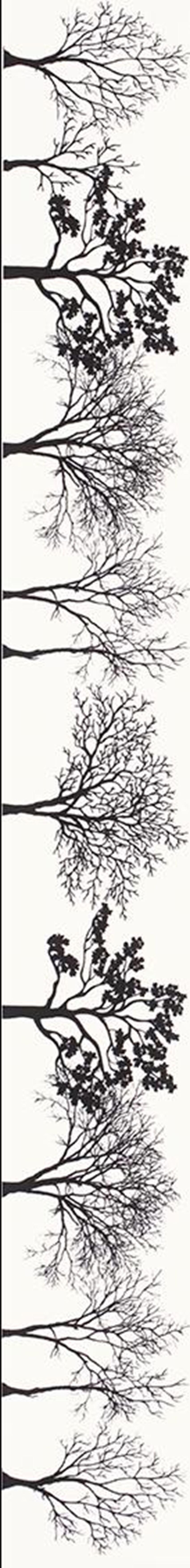 Dekoracja ścienna 4,8x40 cm Paradyż Veo Bianco Listwa